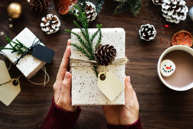 Trendy kerstpakket schenken
